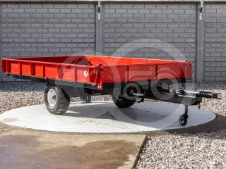 Gépszállító pótkocsi, made in Japan (1)