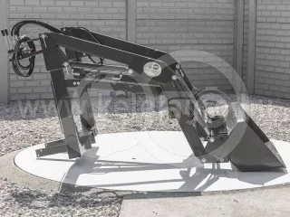 Homlokrakodó Yanmar F165D, FX165D típusú kistraktorokhoz, Komondor MHR-100F165D (1)
