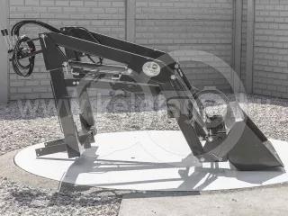 Homlokrakodó Yanmar RS27D típusú kistraktorokhoz, Komondor MHR-100RS27 (1)