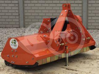 Szárzúzó 125 cm-es, erősített hajtóművel, japán kistraktorokhoz, EFGC125  (0)