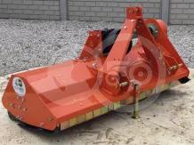 Szárzúzó 145 cm-es, erősített hajtóművel, japán kistraktorokhoz, EFGC145
